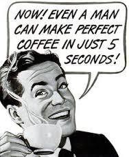 Werbung löslischer Kaffee