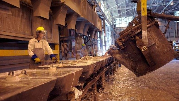 Aluminiumproduktion