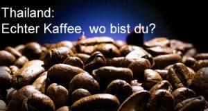 Kaffee in Thailand