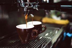 Espresso aus der Siebtäger-Maschine